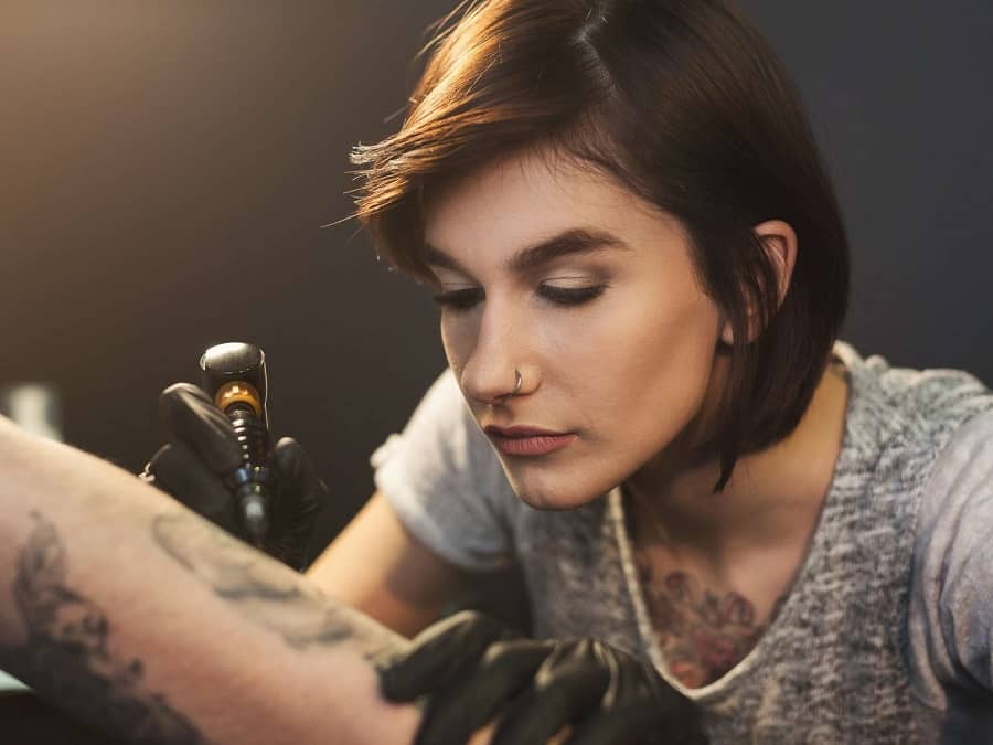 tattooing process